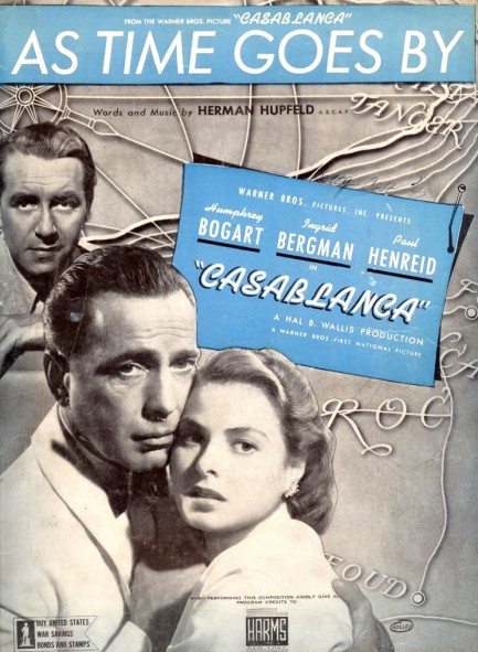 As Time Goes By [Casablanca] Lyrics