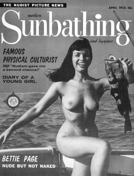 As one of the first mainstream nude models, Page is credited with helping ...