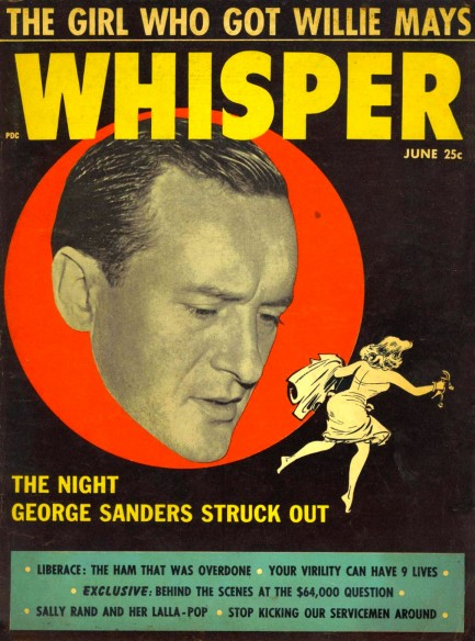 pulp international vintage 1950s cover of the tabloid