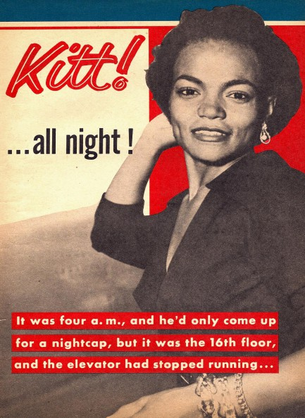 Pulp International - 1965 image of American actress Yvette