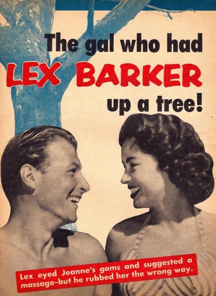 Barker nackt lex Lex Barker