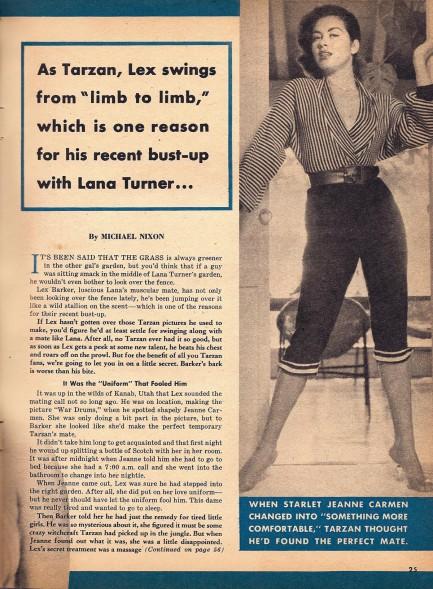 Pulp International - Promo shot of Dorothy Dandridge 1954
