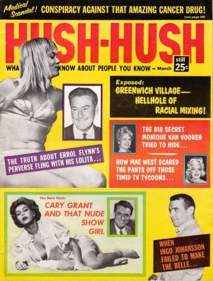 Pulp International - Vintage cover of Hush Hush with Errol