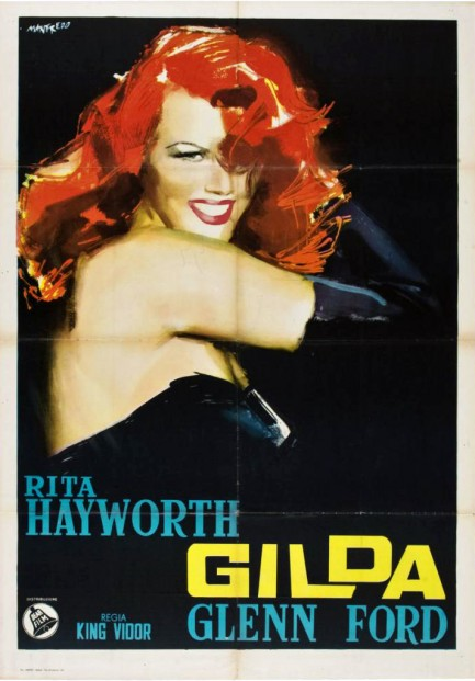Pulp International - Three vintage Gilda posters, with ...