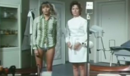 itm TEENAGE SEX REPORT Madchen Beim Frauenarz Japanese B movie poster SEXPLOITATION