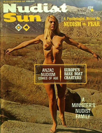 nudist magazine family European