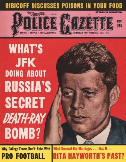 POLICE GAZETTE November 14, 1933 and January 9, 1934