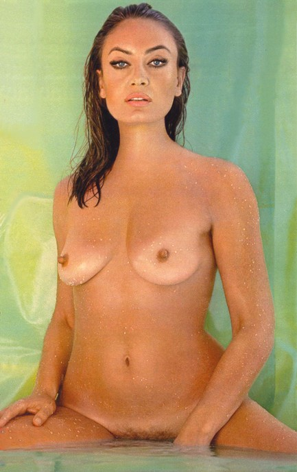 Above, a rare promo photo of Austrian actress and sex symbol Marisa Mell, ...